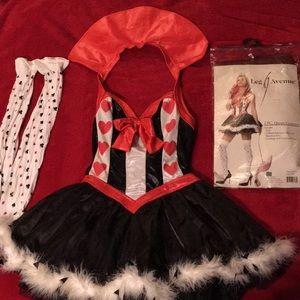 Queen of Hearts Halloween costume
